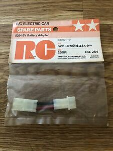 Tamiya 50264 6V Battery Adapter NIP Vintage Original bigwig Boomerang Falcon Fox