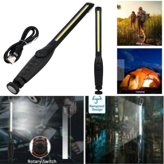 1-5 PCS Astro Pneumatic 40SL Rechargeable COB LED Slim Work Light Lamp Magnetic