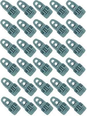 10 MIDI CLIP GELB Spann Fix Spanner Klammer Molton Planen Folie Klemme Clips Öse
