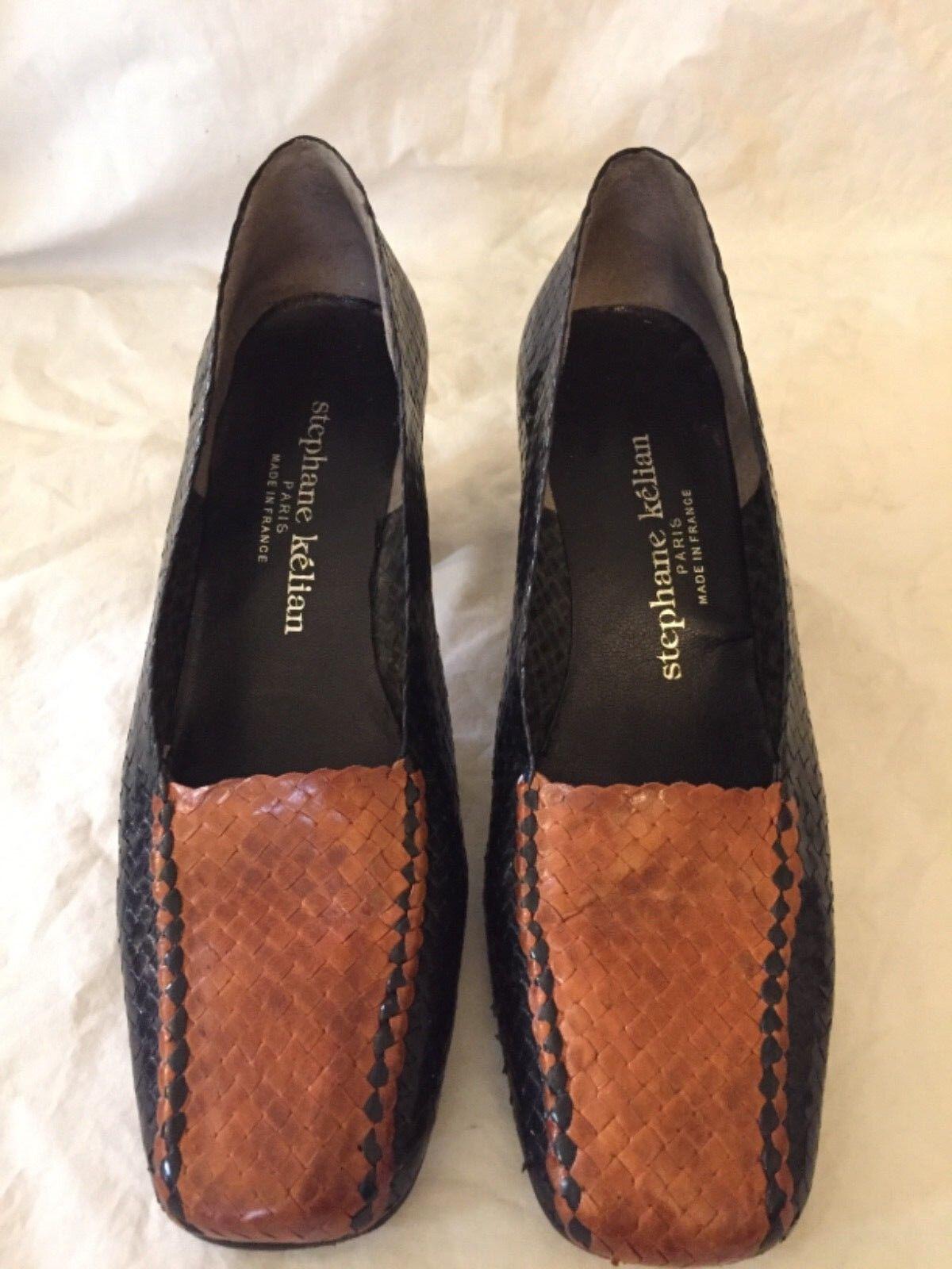 precios bajos Stephane Stephane Stephane Kelian Zapatos Mujer Negro y Marrón  ordenar ahora
