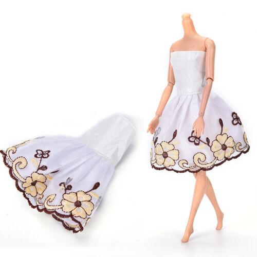 "Fashion Beautiful Handmade Party Clothes Dress for 9/""  Doll Mini 102 PLCA"