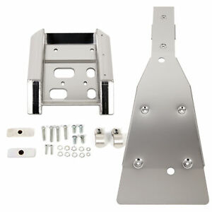 Swing Arm Skid Plate /& Full Chassis Glide Compatible with SUZUKI LTZ400 Z400 KFX