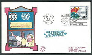 1979 Vaticano Viaggi Del Papa Onu Nazioni Unite - Ev