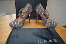 LAMB Perdy Special Occasion Platform Strappy Court Size UK 3 BNIB RRP£275