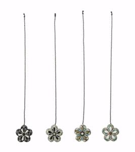 Ceiling Fan Chain Pull Ornament Decorative Flower Fan Pulls ER40945