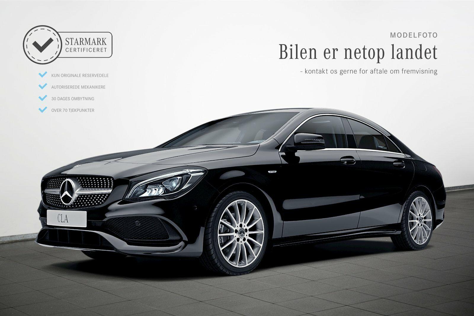 Mercedes CLA200 1,6 Final Edition aut. 4d - 384.900 kr.