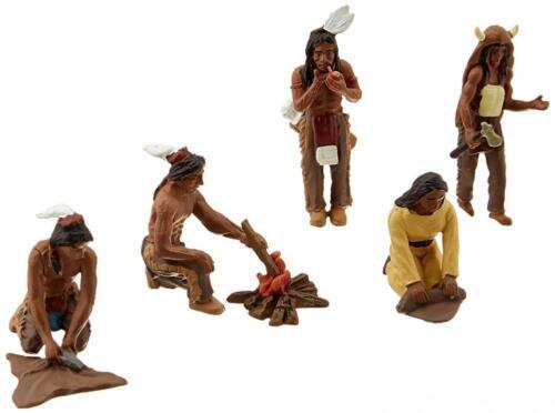 Native Americans,... Woodland Scenics SP4443 1.5-Inch Scene Setters Figurine