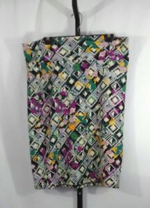 12b5125dec1fa Lularoe Cassie Plus Size 2XL Floral Multi Color Stretch Pencil Skirt ...