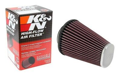 """K/&N Re-0850 Tapered Conical Air Filter Dia. F 4/"""" 102 Mm"""
