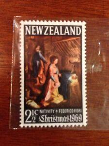 NEW ZEALAND 1969 2 1/2d CHRISTMAS MNH NZC10 MINT STAMP