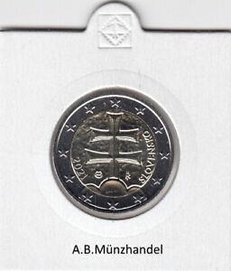 Slowakei - Kursmünze 2009 bis 2021 - wählen Sie von 1 Cent bis 2 Euro - stgl.KMS