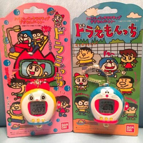 Tamagotchi x Doraemontchi /& Doramitchi Set Virtual Pet Game Toy BANDAI NEW Rare