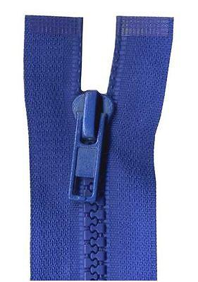 35cm Royal Blue Open End Chunky Zip