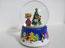 Peanuts Hallmark 50th Anniversary Musical Snow Globe 2000 | eBay