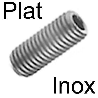 vis sans tête STHC inox M2.5 x 10 bout pointu lot de 3