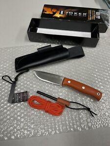 Joker Orange LYNX G10 Fixed N695 Steel BOHLER Survival Knife Open Box