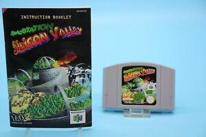[3450] spacestation Silicon Valley Nintendo 64 juego n64 pal módulo instrucciones