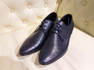 online retailer 9f7a2 c1513 Details zu Herrenschuhe Anzugschuhe Hochzeit Festschuhe Elegant Festlich  Halbschuhe blau