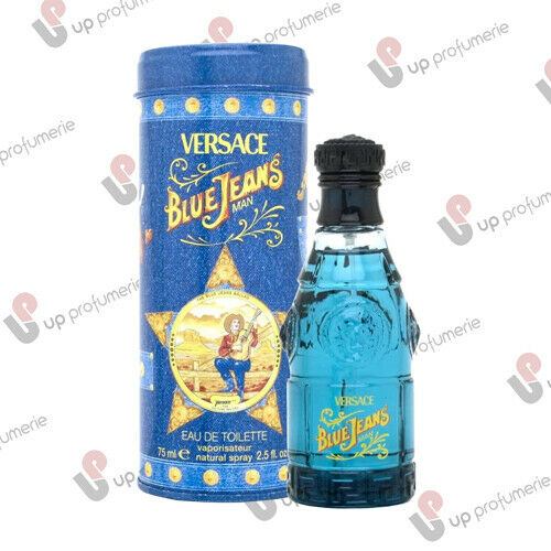 profumi: VERSACE BLUE JEANS POUR HOMME EDT 75 ML