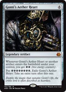 MTG-Magic-M-Aether-Revolt-Gonti-039-s-Aether-Heart-NM