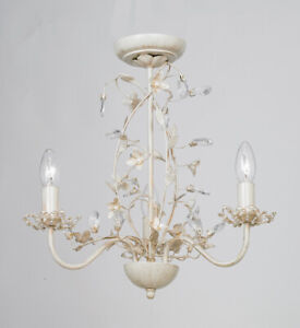 Image Is Loading Beautiful 3 Way Flower Large Ceiling Light Ing