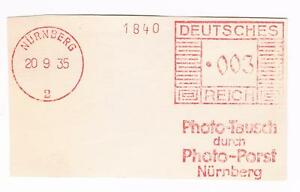 Photo Tausch durch Photo Porst Nürnberg 1935 AFS E 2 - <span itemprop='availableAtOrFrom'>Ansbach, Deutschland</span> - Photo Tausch durch Photo Porst Nürnberg 1935 AFS E 2 - Ansbach, Deutschland