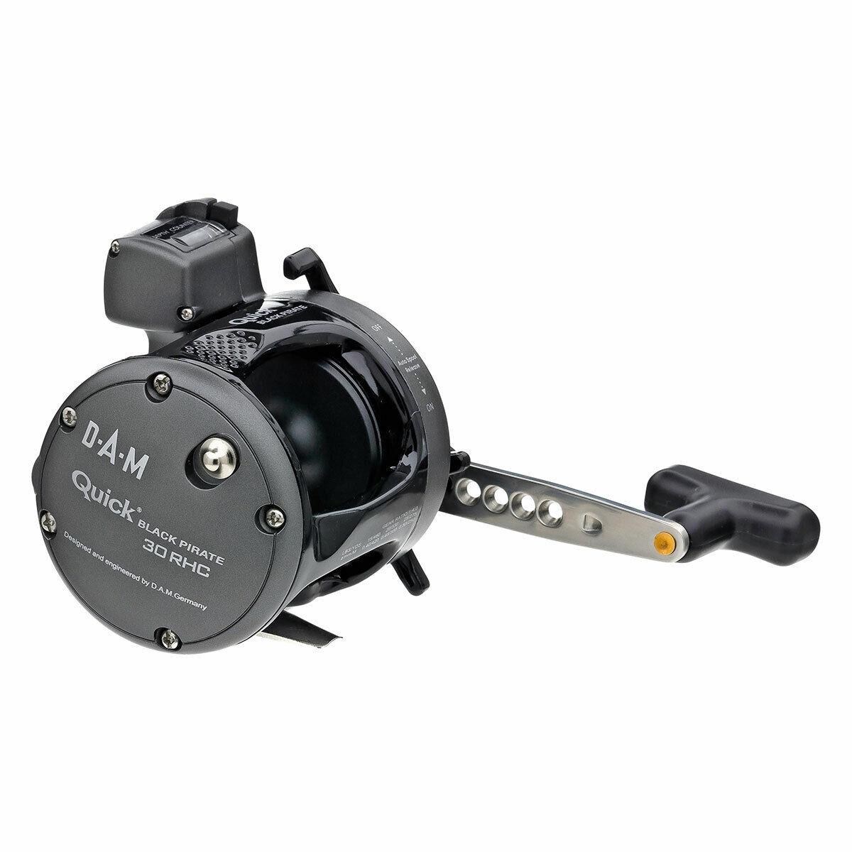 Dam Quick negro Pirate 45 RHC derecha mano con cuerda contador Rh linecounter New OVP