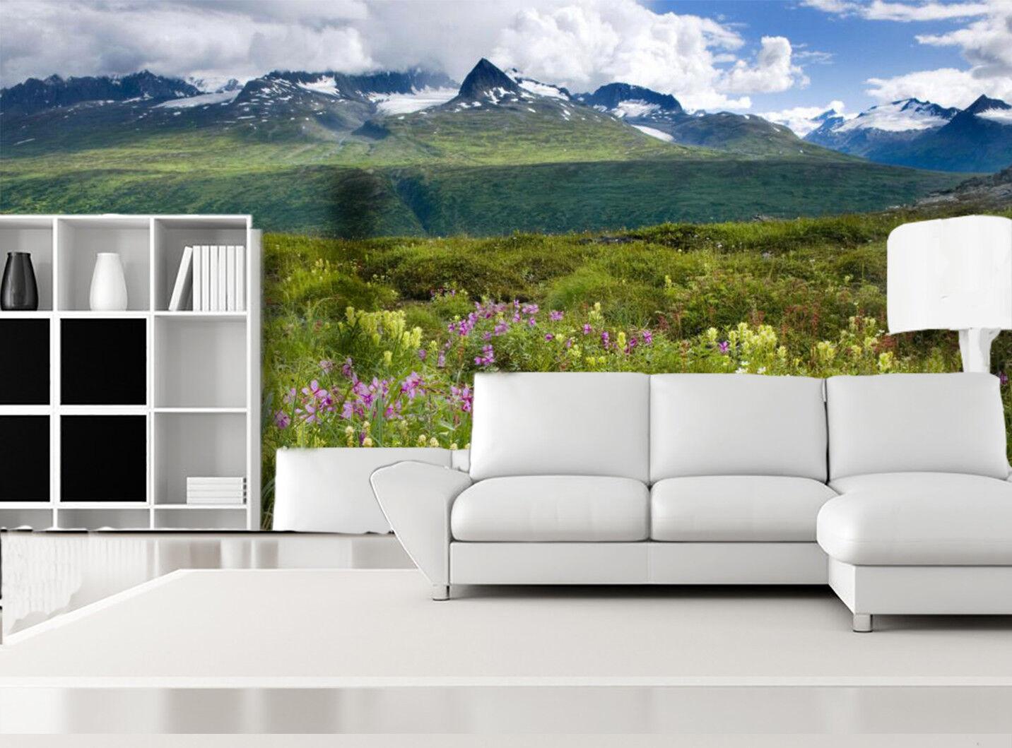 3D Grassland Nature 8 Wallpaper Mural Wall Print Wall Wallpaper Murals US Summer
