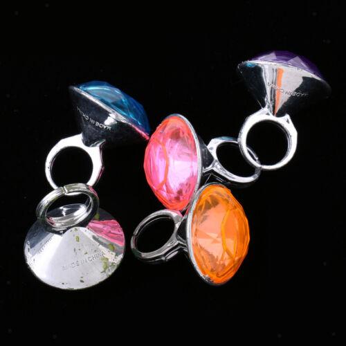 5 stücke Kunststoff Diamant Ringe Preise für Klassenzimmer Lehrer Pinata