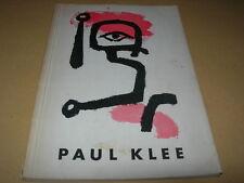 Paul Klee - Katalog von 1956 Kunstverein Hamburg