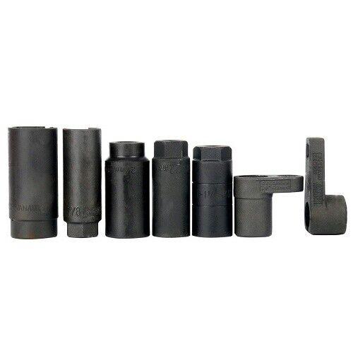 7Pcs Oxygen Sensor Socket Set Automotive Sensor /& Sending Unit Auto HD Tool Kit