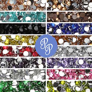 3mm-Rhinestone-Gem-20-Colors-Flatback-Nail-Art-Crystal-Resin-Bead-1000