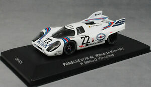 IXO-Porsche-917K-Martini-Le-Mans-Winner-1971-Marko-amp-Van-Lennep-LM1971-1-43-Nuevo
