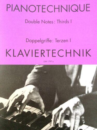 Terzen 1 Klaviertechnik Doppelgriffe