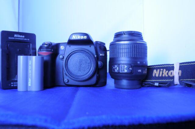 Nikon D D80 10.2 MP. w/ Nikon VR G 18-55mm. Fully functional.