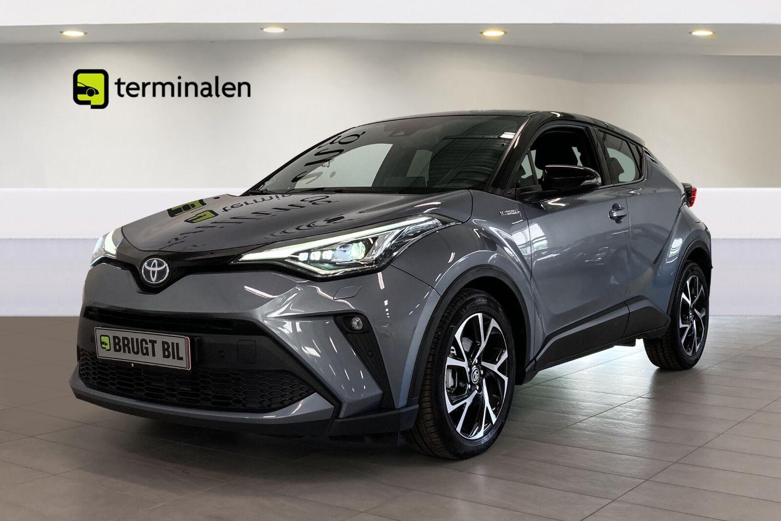Toyota C-HR 1,8 Hybrid C-LUB Premium CVT 5d - 299.900 kr.