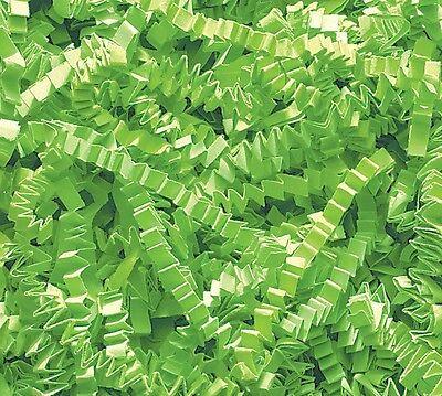 U Choose Size! LIME GREEN Gift Basket Shred Crinkle Paper Grass Filler Bedding