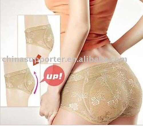 Enhanced Padded Butt Panties Removable Pads Buttocks