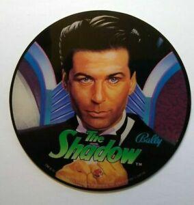Bally The Shadow Pinball machine Promo Original NOS Plastic Alec Baldwin 1993