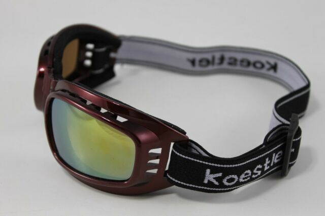 C885Red Kids Youth UV glasses goggles Protection for hunting ski snowshoe