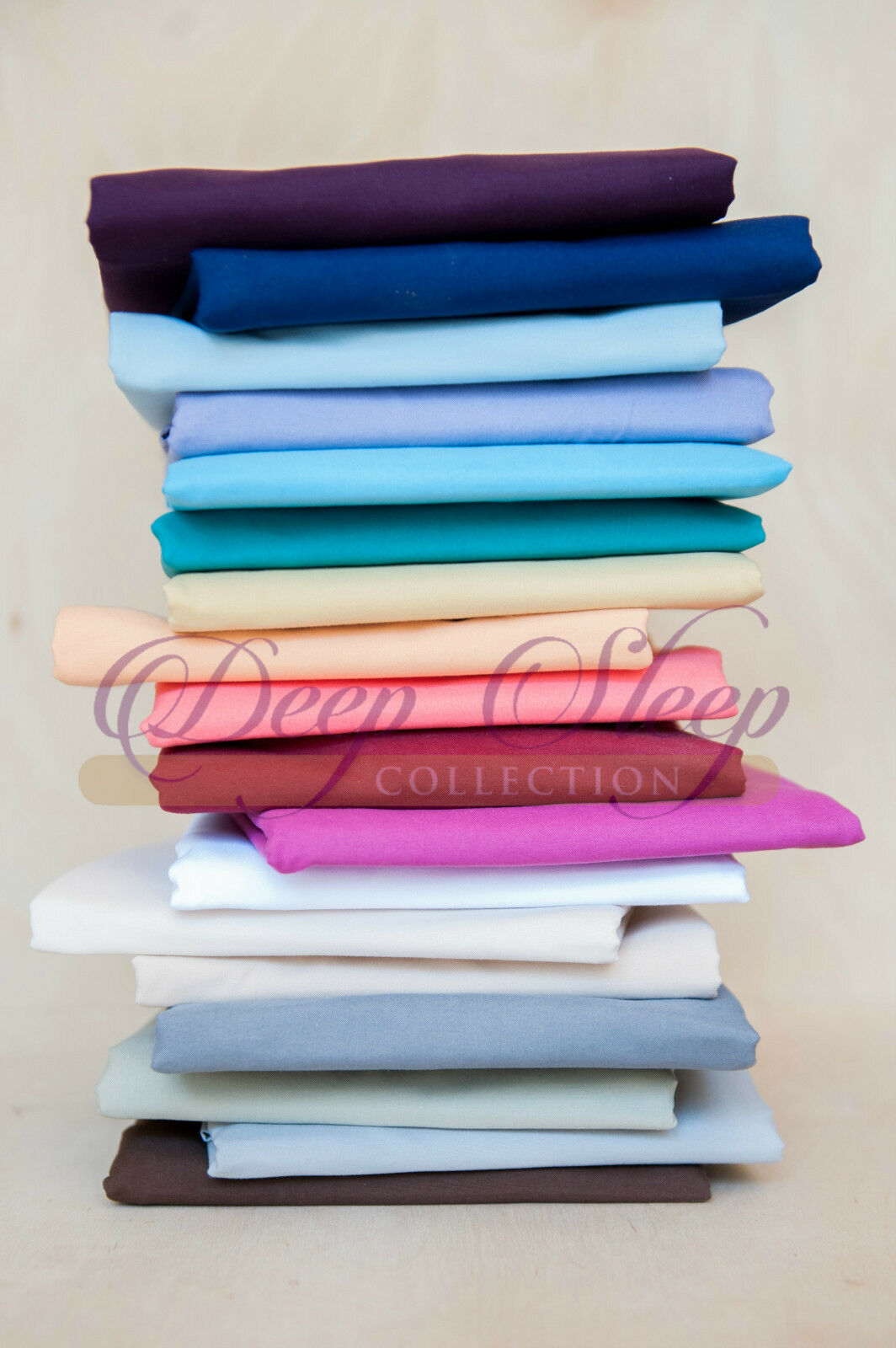 Deep Sleep 1800 Breathable Brushed Microfiber Sheets - Short Queen   RV Sheets