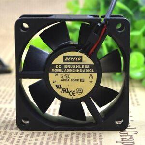 1PC ADDA AD0624HS-A70GL 6025 6CM DC24V 0.15A 60*25MM Inverter cooling fan