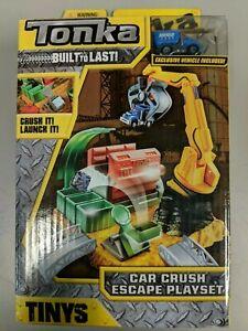 Tonka-51006-Tinys-Car-Crush-Escape-Playset