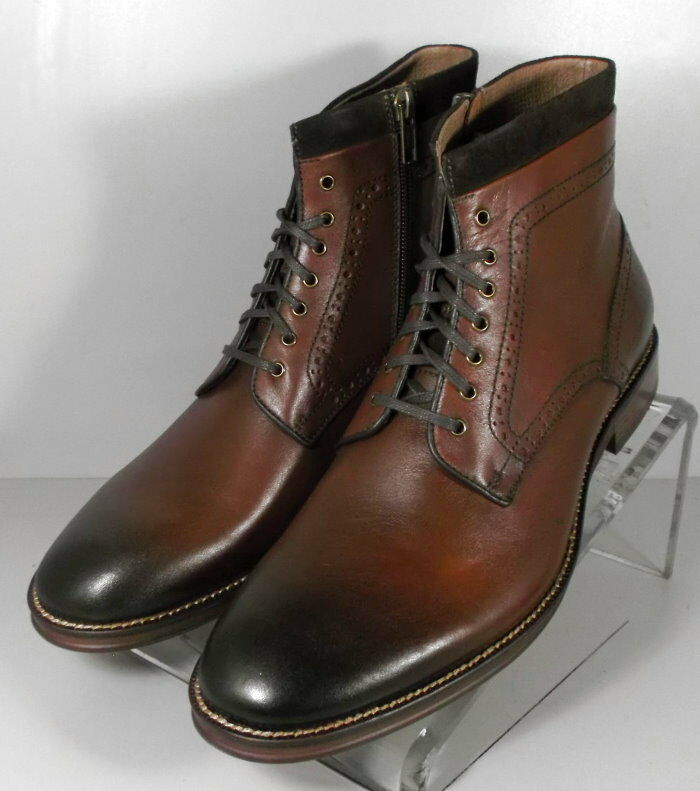 271292 ESBT 50 Zapatos de hombre 11.5 M Marrón Cuero 1850 serie botas Johnston Murphy