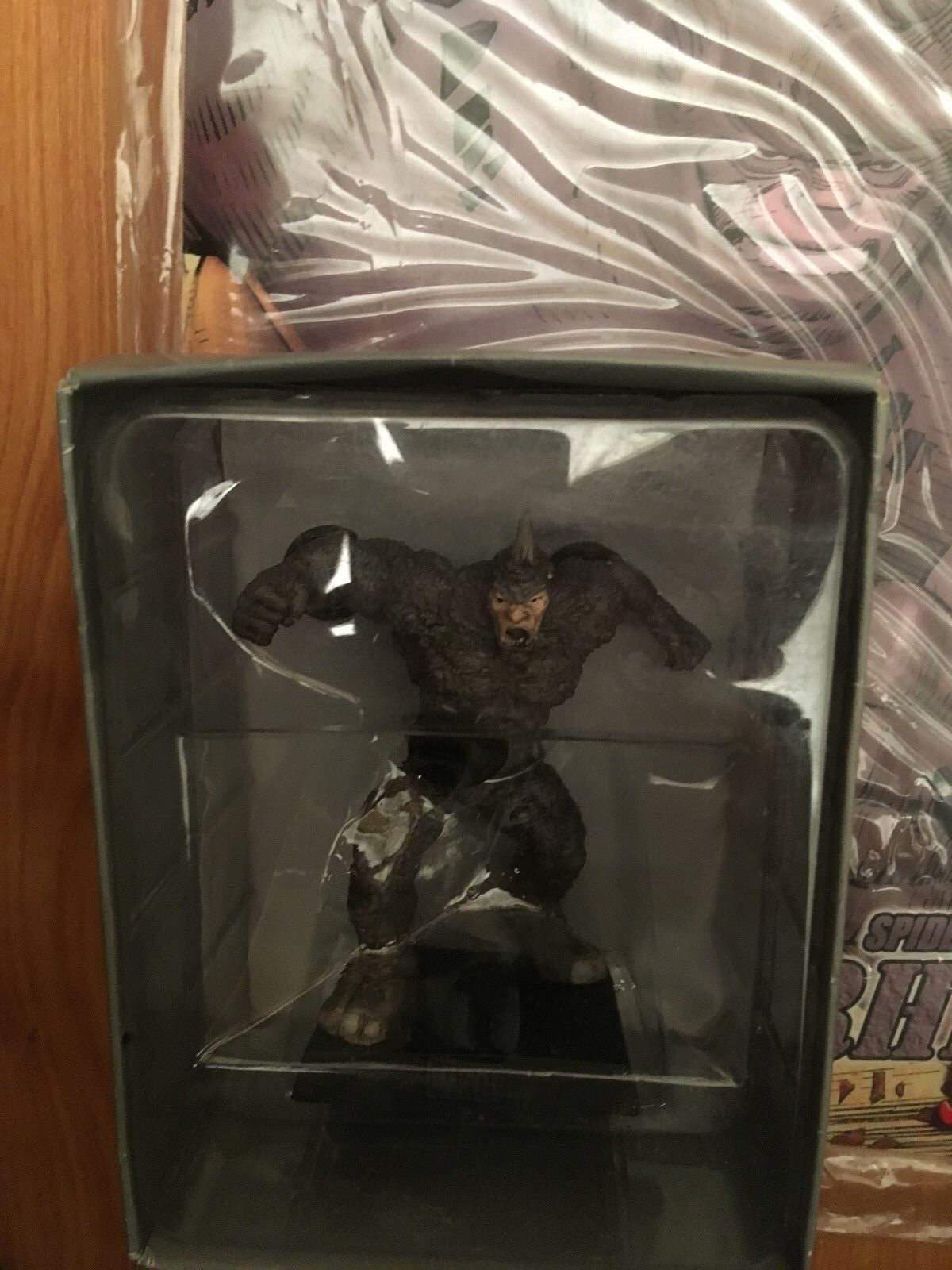 MARVEL FIGURINE COLLECTION COLLECTION COLLECTION SPECIAL ISSUE RHINO EAGLEMOSS FIGURE + MAGAZINE bd2e82
