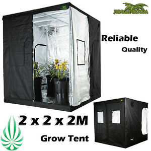 Image is loading Hydroponics-2x2x2M-JUNGLE-ROOM-Grow-Tent -200x200x200mm-Grow-  sc 1 st  eBay & Hydroponics 2x2x2M JUNGLE ROOM Grow Tent 200x200x200mm Grow Light ...