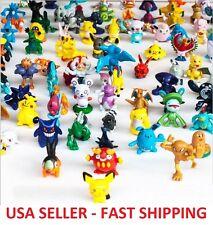 40 pcs Pokemon Monster Mini Figures Cake Toppers Party Favors, Pikachu *RANDOM*