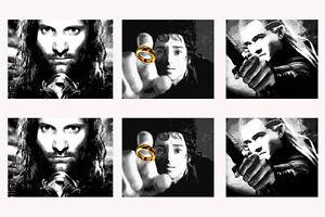 quadro-il-signore-degli-anelli-POP-ART-stampa-italiana-the-lord-of-the-ring