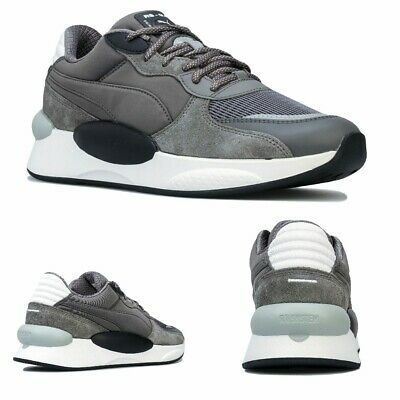 Men's Puma RS 9.8 Gravity Trainers in Grey Black | eBay