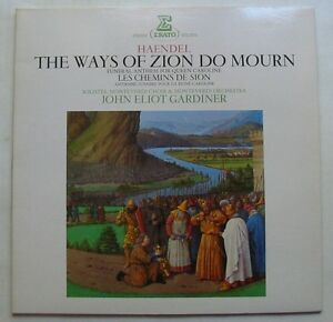 HAENDEL-LP-33T-THE-WAYS-OF-ZION-DO-MOURIN-JOHN-ELIOT-GARDINER